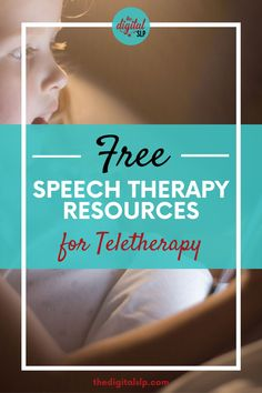 With more schools going to a temporary distance learning model, I decided to round up some FREE speech therapy activities for teletherapy. Save this post as I will keep adding to the list as I find more. | The Digital SLP