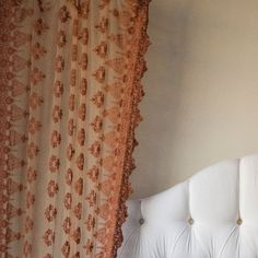 Olivia Curtain Panel in Choice of Color from PoshTots