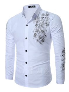 Cheap men slim shirt, Buy Quality sleeve men shirt directly from China fashion man shirt Suppliers: 2017 New Autumn Printing Shirt Fashion Mens Slim Shirt Fashion Social Camisa Masculina Long sleeves Men Shirt Cheap Mens Shirts, Mens Shirts Online, Nigerian Men Fashion, African Men Fashion, England Mode, Mens Designer Shirts, Men Dress, Shirt Dress, African Shirts