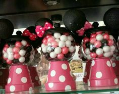 Mini mouse DIY gumball.  Could be a light or diorama, too.