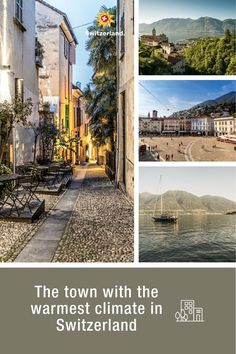 Locarno, where you can best enjoy the warm hours of sunshine