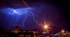 Dazzling Photos of Rare Lightning Over Cape Town | SAPeople - Your Worldwide South African Community