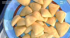 Ricette Gabriele Bonci: fazzoletti di pasta fritta, triangoli golosi