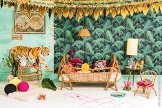 papier peint palm jungle cole and son