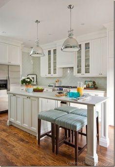 kitchen island booth ideas