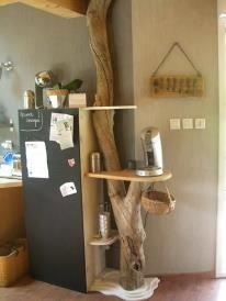 Natural Cat Tree Large Cat Tree, Diy Cat Tree, Cat Trees, Deco Originale, Log Furniture, Smart Furniture, Tree Trunks, Furniture Inspiration, Home Projects