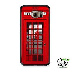 London Telephon Box Samsung Galaxy S6 Case