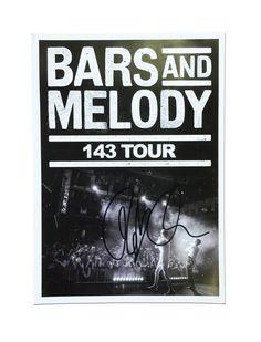 143 Tour Poster - SIGNED - BarsandMelody.tv