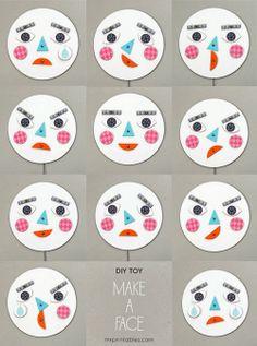 de tout et de liens : blog culture et lifestyle: DIY du mercredi : Emoticônes de papier