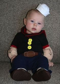 "Baby's first Halloween? These costume ideas will make you say ""aww"" and ""oh, no, they didn't!"" at the same time."