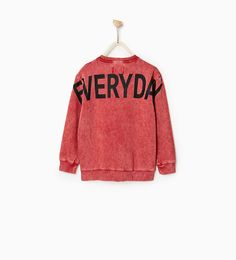 Image 5 of SWEATSHIRT WITH PRINT ON THE BACK from Zara