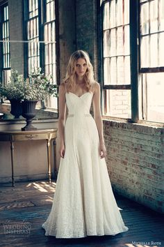 michelle roth wedding dresses 2014 roberta bridal gown spaghetti straps