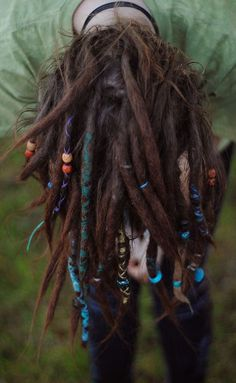 #dreads #dreadlocks #dreadlockbeads #dreadhead ; ☽ ☼ the earth has music for those who listen ☼ ☾
