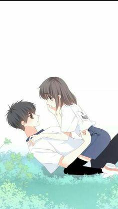 Love Never Fails Manga Anime Cupples, Anime Kiss, Cute Couple Art, Anime Love Couple, Couple Illustration, Manga Illustration, Sad Anime Couples, Anime Friendship, Chibi Couple
