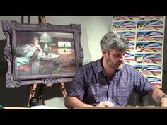 PAINTING WITH SKILL - LESSON 19 - KITCHEN ROLL - YouTube
