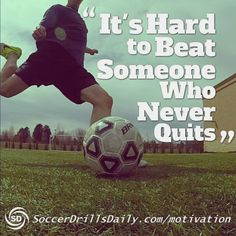 As a soccer player, sometimes you need a little help staying motivated to keep training hard. Our soccer motivation section is updated weekly to keep you training hard Basketball Tricks, Soccer Drills, Soccer Coaching, Soccer Training, Soccer Players, Soccer Tips, Soccer Videos, Golf Tips, Messi Y Ronaldinho