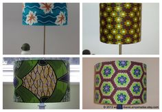 Here's some Green inspiration. Am sure you will be spoilt for choice with these Handmade lampshades made out of rare AfricanPrint Fabric All available to buy at www.ankaralampshades.etsy.com