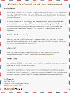 LeadPrime's welcome message for new Financial Year 2014-15 - Happy trading and investing !!!  http://beetlerim.com/emailcamp/new-financial-year/