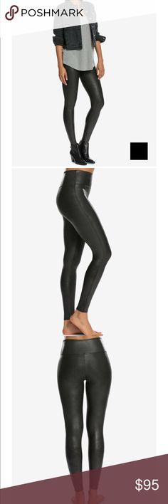 Spanx Faux Leather Leggings Gently used leggings SPANX Pants Leggings