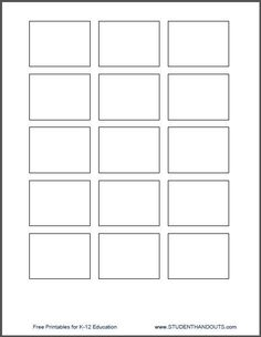 """1.5"""" x 2"""" Printing Template for Post-It Notes"""
