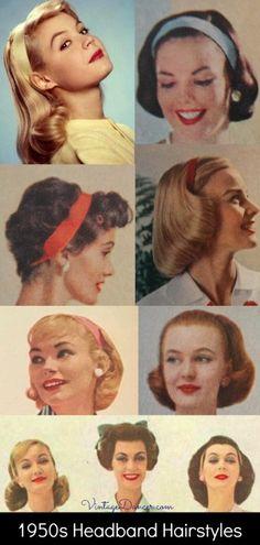 High Ponytail Hairstyles, Short Shag Hairstyles, Twist Braid Hairstyles, Baby Girl Hairstyles, Bandana Hairstyles, African Braids Hairstyles, Retro Hairstyles, 1950s Hairstyles For Long Hair, Hairstyles With Headbands
