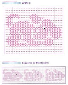 Fabinha Graphics For Embroidery: Oitinho Point Embroidery Transfers, Embroidery Patterns, Cross Stitch Patterns, Huck Towels, Swedish Weaving Patterns, Chicken Scratch Embroidery, Monks Cloth, Smocks, Weaving Designs