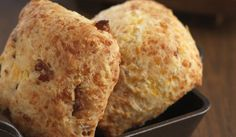 Bacon Cheddar Biscuits with Maple Chile Butter -1833 Restaurant - Monterey, CA