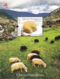 2010: Portuguese Cheese - Domestic Sheep (Ovis ammon aries) (פורטוגל) (Portuguese Cheese - Group 1) Mi:PT BL301,Un:PT BF307,Afi:PT BL425