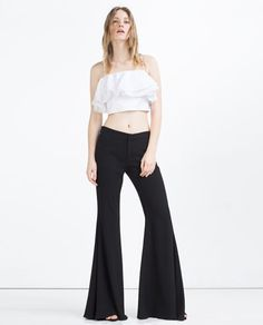 ZARA - NEW IN - EXTRA FLARED TROUSERS