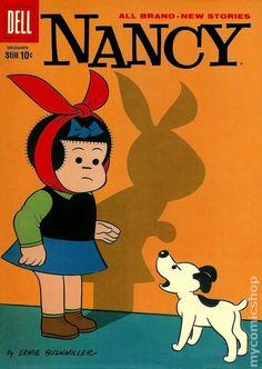 Nancy and Sluggo (1955-63 St. John/Dell) comic books