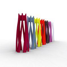 Multicolor Dango #coat #hanger 21st LIVINGART design Italo Pertichini