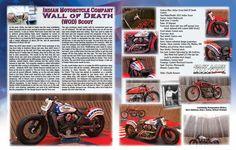 FLBD July 2015 Feature Bike - Indian Wall of Death Bike. #FLBD #bikersofpinterest #indianmotorcycle #bikers #motorcycle