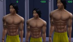 Mod The Sims - Five New Sliders For The Sims 4! - Height, Hand, Neck, Bulge, and Gradual Height Growth! - 2/17/2016 Update