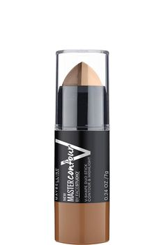 Facestudio Master Contour V-Shape Duo Stick by Maybelline. Easy to use contouring & highlighting stick in a creamy matte formula for a perfectly defined face. Best Contouring Products, Contouring Makeup, Highlighter Makeup, Contouring And Highlighting, Beauty Products, Drugstore Contour Stick, Makeup Products, Concealer, Contour Face