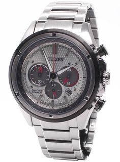 Citizen Mens Eco Drive Titanium Chronograph Watch In Stock Free Ne Citizen Eco, Citizen Watch, Stylish Watches, Cool Watches, Vintage Watches For Men, Casio Watch, Chronograph, Quality Watches, 7 Months
