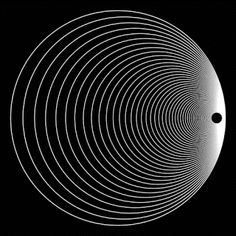 Illusion Kunst, Illusion Gif, Cool Optical Illusions, Geometry Art, Op Art, Graphic Design Posters, Galaxy Wallpaper, Motion Design, Fractal Art