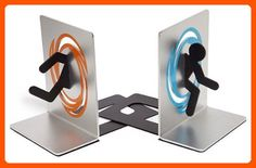 Portal 2 Bookends - Fun stuff and gift ideas (*Amazon Partner-Link)