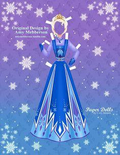 Disney's Frozen Printable Paper Dolls – SKGaleana Paper Doll Costume, Paper Doll Craft, Doll Crafts, Paper Toys, Paper Crafts, Frozen Paper Dolls, Disney Paper Dolls, Festa Frozen Fever, Paper Dolls Printable