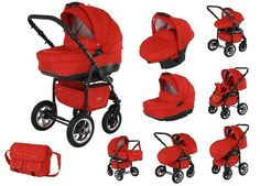 Nitro Multifunction travel system for your baby, designed to assure safety, easy handling and versatile use.