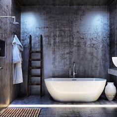 COCOON grey bathroom | bathroom design inspiration | high end stainless steel bathroom taps | modern design products for bathroom and kitchen bycocoon.com | renovations | villa design | hotel design | Dutch Designer Brand COCOON