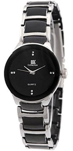 3d365e961c1 IIK Collection Round Analogue Black Dial WOMEN s Watch-IIK1001W Watch  Display