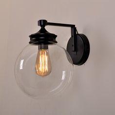 pas cher amricain rustique appliques minimaliste art dco lampe de mur de verre salle de bains - Applique Salle De Bain Art Deco