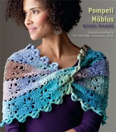Free Crochet Pattern  Crocheted Pompeii Mobius, as seen on Knitting Daily TV Episode 903 - Crochet Me