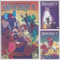 MUNCHKIN #6 7 8 Boom! Box studios comic book lot run of 3 issues