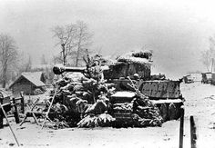 A look at the German heaviest tanks of World War II, the Tiger I, Tiger II King Tiger, and the Maus Panzer VIII. Tiger Ii, Snow Tiger, Military Photos, Military History, Ww2 History, Mg 34, History Of Germany, Ferdinand Porsche, Tiger Tank
