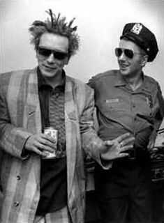 Johnny Rotten & Joe Strummer