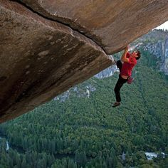 Unlike Alex Honnold, Ferguson uses a rope when climbing. Not because he needs it of course, but just so that he won't make the other climbers feel bad. Vote Ferguson for President solo honnold Yosemite National Park, National Parks, Yosemite Climbing, Solo Climbing, Dangerous Sports, Best Documentaries, Yosemite Valley, Entertainment Weekly, Big Challenge