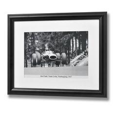 Jim Clarke Nurburgring Framed Print