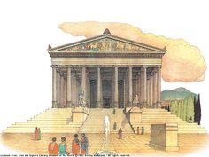 The Temple of Cybele/Diana at Ephesus