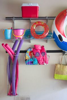Super easy and functional garage storage ideas!
